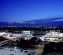 Tampa International Airport at night